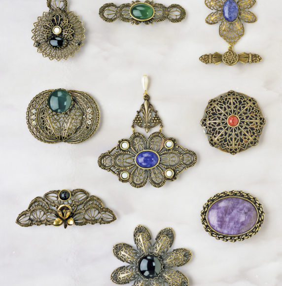 19. Brooches