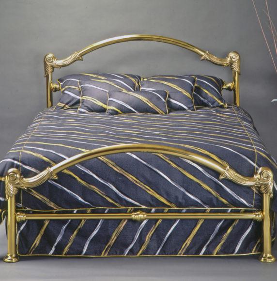3.Brass Bed