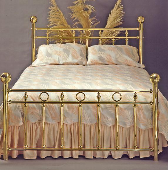 4. Brass Bed