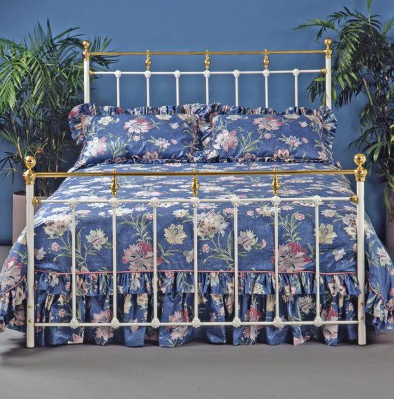 7. Brass Bed